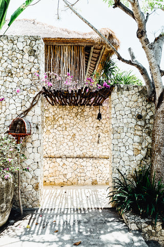 ART PRINT | Tropical Door Lembongan  by Denise Rix