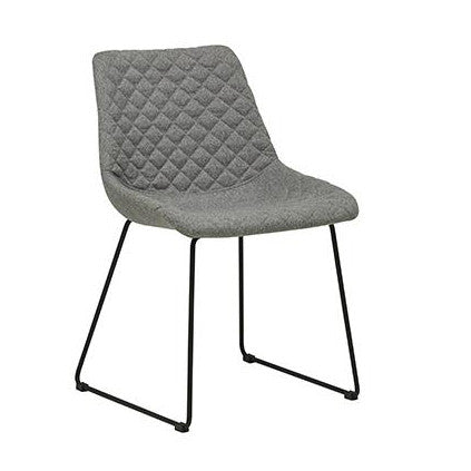 DINING CHAIR | henri design in grey speckle by globewest