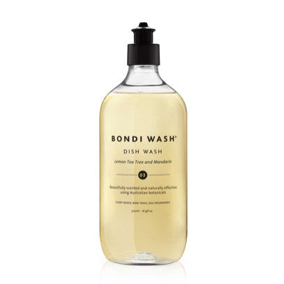 DISH WASH | lemon tea tree + mandarin by bondi wash