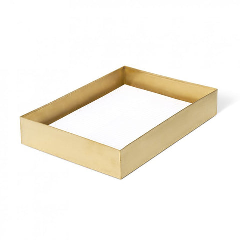 DOCUMENT TRAY | brass by Lightly