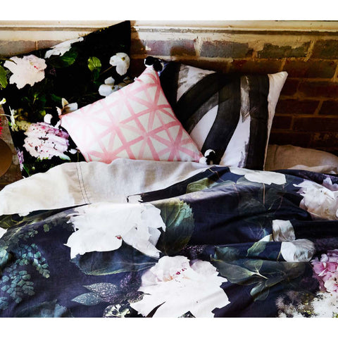 DUVET | dogwood black cotton by bonnie + neil