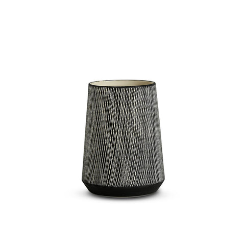 VASE | etchings S in black by marmoset found