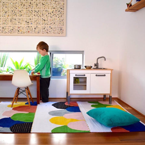 FLOOR RUG | cotton hills by OHH