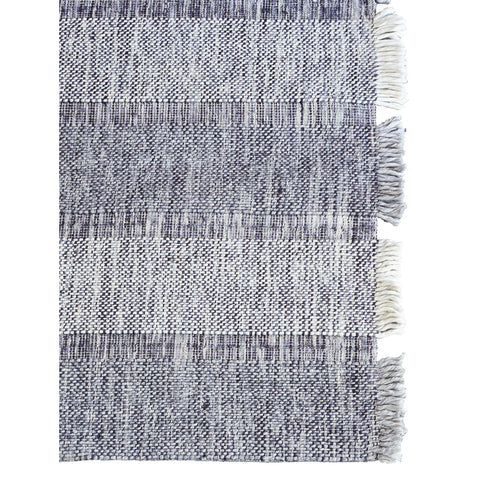 FLOOR RUG | hc monte design in charcoal-blue by tribe home