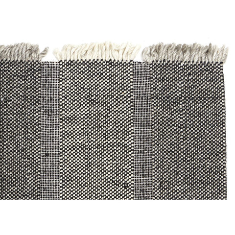 FLOOR RUG | hc monte design black grey by tribe home