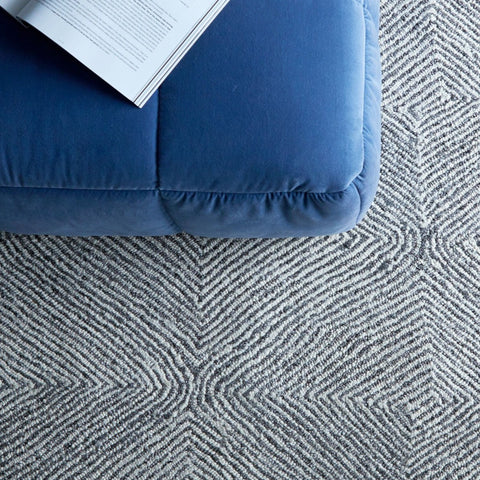 FLOOR RUG | kenya weave in silver cloud by tribe home