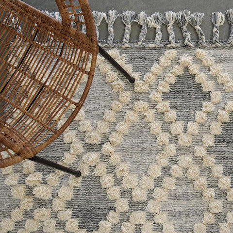 FLOOR RUG | moroccan trellis by OHH