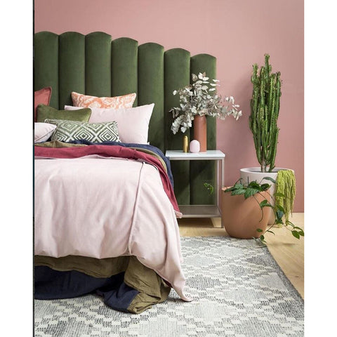 FLOOR RUG | Runner flat moroccan trellis by OHH