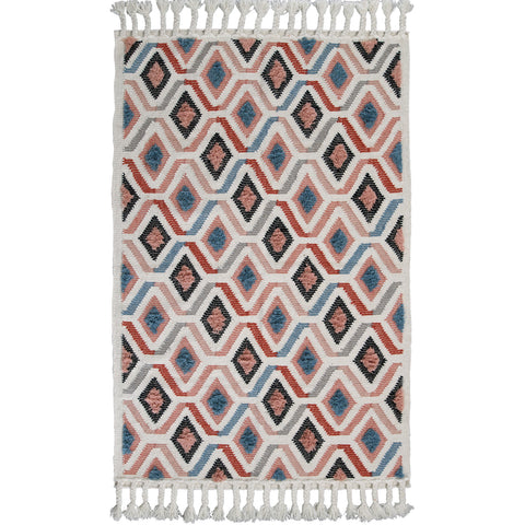 FLOOR RUG | pink sahara weave by OHH