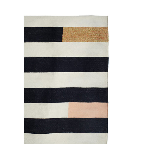 FLOOR RUG | striped design by langdon ltd
