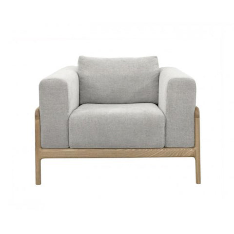 OCCASIONAL CHAIR | gustav in pale grey marle by MRD
