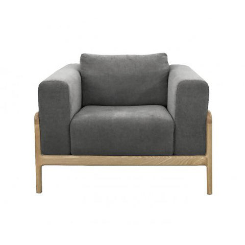 OCCASIONAL CHAIR | gustav in dark grey marle by MRD