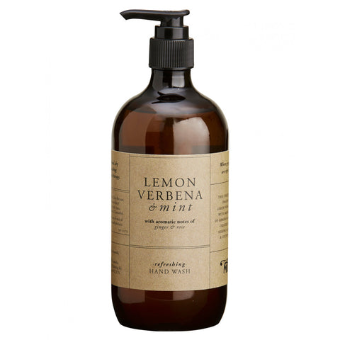 HAND WASH | lemon verbena + mint by mozi