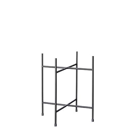 PLANT STAND | iris design in charcoal by milk + sugar
