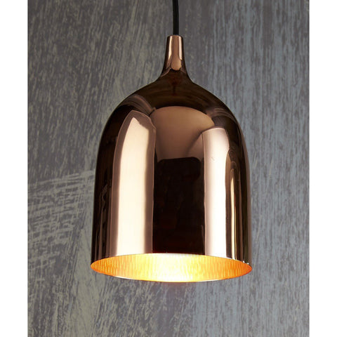 PENDANT LIGHT | lumi-r in copper