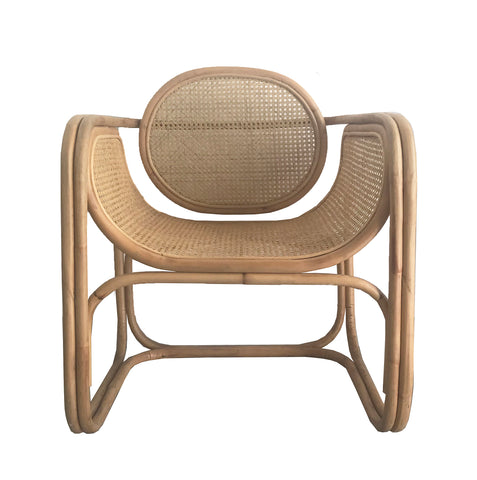 OCCASIONAL CHAIR  | min design in natural by mrd home