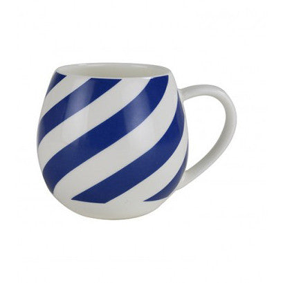 MINI MUG | blue with white stripes by robert gordon