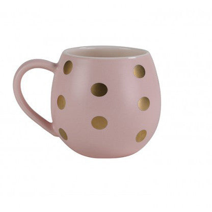 MINI MUG | pink with gold spot by robert gordon