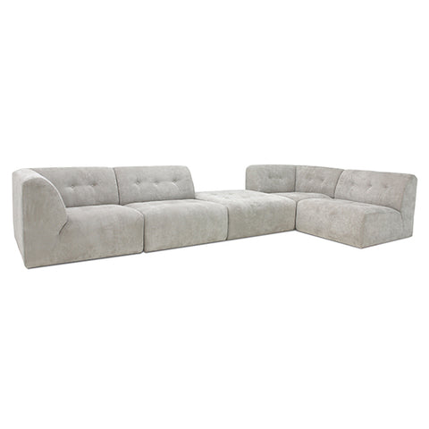 COUCH | Vint Corduroy Rib Cream by HK Living