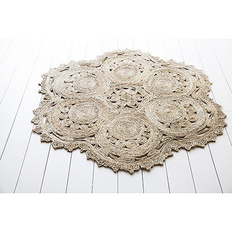 FLOOR RUG | antibes jute by Olli Ella