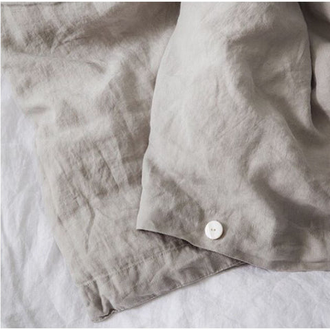 DUVET SET | natural linen by cultiver