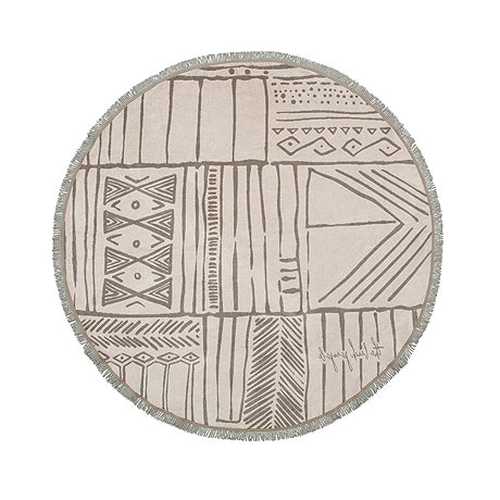 BEACH TOWEL | nomad design roundie by the beach people