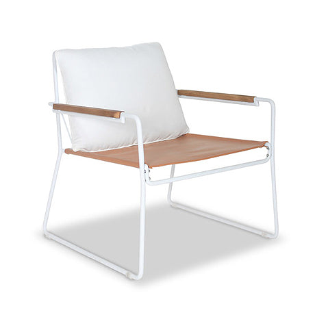 OCCASIONAL CHAIR | eden design in white by satara