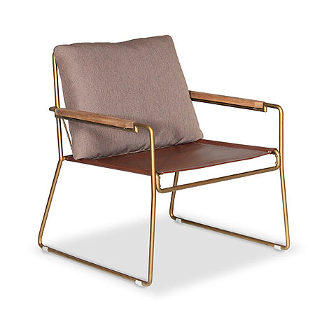 OCCASIONAL CHAIR | eden design in brass by satara