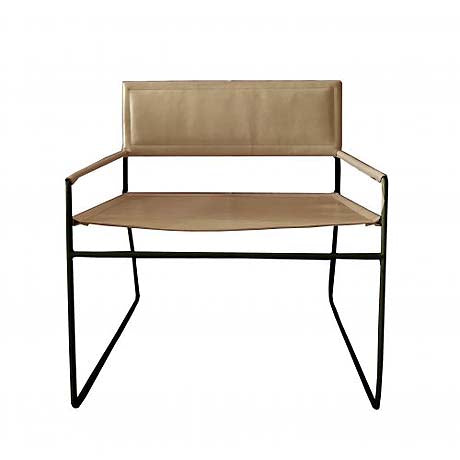 OCCASIONAL CHAIR | 'mak' in caramel by MRD