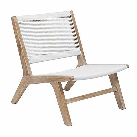OCCASIONAL CHAIR | reef in white by globewest