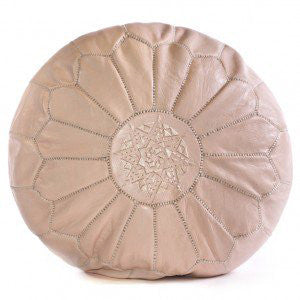 OTTOMAN | dusty pink moroccan by cush + co