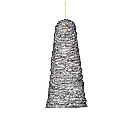PENDANT | black cone weave design by marmoset found