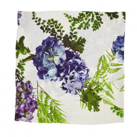 PILLOWCASE | hydrangea blue linen by bonnie + neil