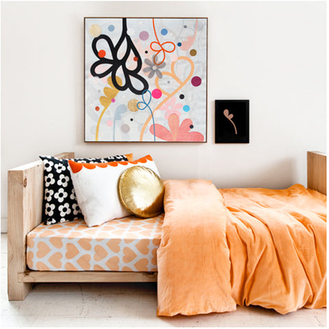 set peach cover pieces teen moreover design bedding girls pillowcase products duvet one bowknot pink twin