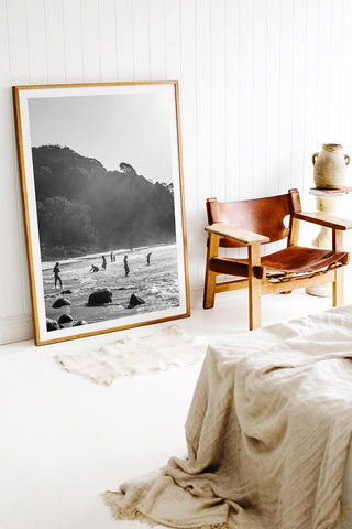 ART | Photographic Print Byron Bay Salt Haze by Kara Rosenlund