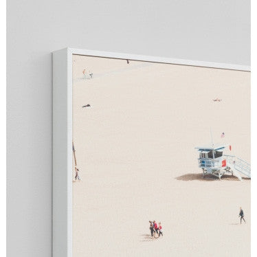 ART PRINT | santa monica summer by warranbrook designs