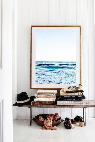 ART | Photographic Print Sea Stradbroke Island by Kara Rosenlund