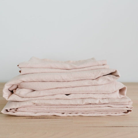SHEET SET | blush linen by bedtonic