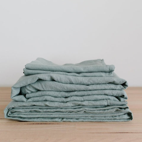 SHEET SET | sage linen by bedtonic