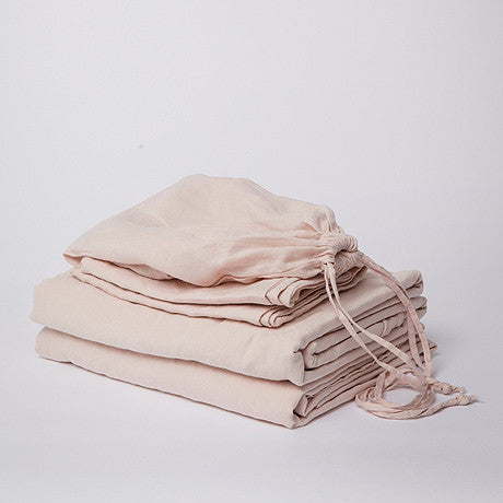 SHEET SET | blush linen by cultiver