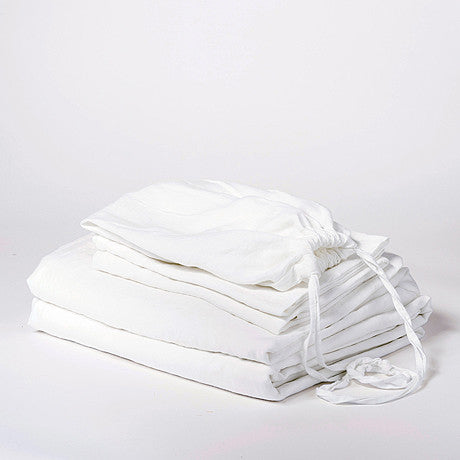 SHEET SET | white linen by cultiver