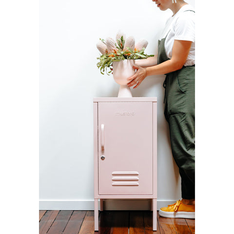 SIDE TABLE | BEDSIDE | shorty design in blush by mustard made
