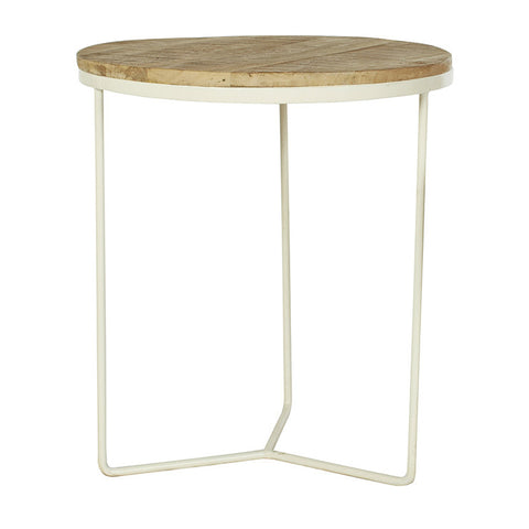 SIDE TABLE | flinders design in natural + white by Globewest