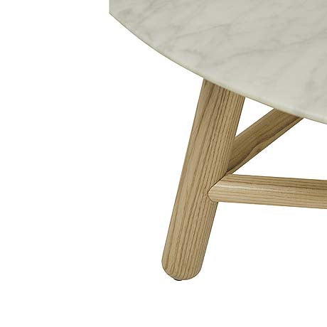 COFFEE TABLE | sloan design in white marble by globewest
