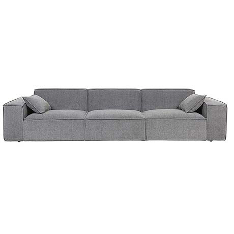 SOFA | felix block 4-seater in grey mist by globewest
