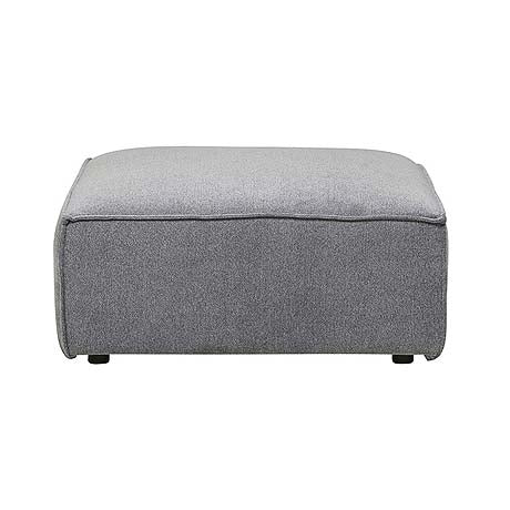 OTTOMAN | felix block design in grey mist by globewest