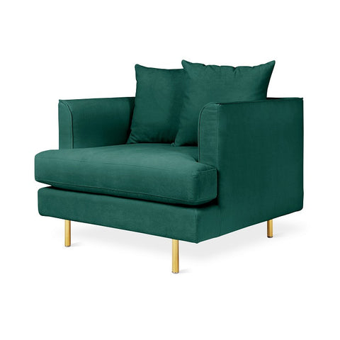 OCCASIONAL CHAIR | gus margot in velvet spruce by globewest