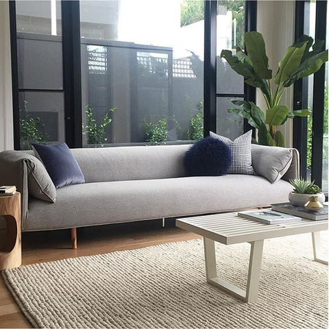 SOFA | axis design in grey marle in MRD Home
