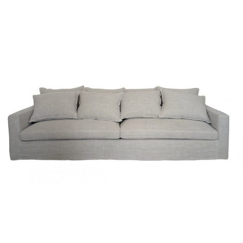SOFA | igor design in chalk grey linen in MRD Home