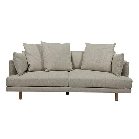 SOFA | vittoria iris 3-seater in stone by globewest